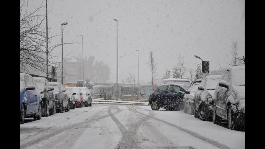 Neve a Roma: ecco il conto