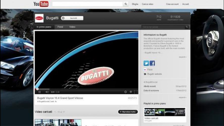 Bugatti apre ai social network