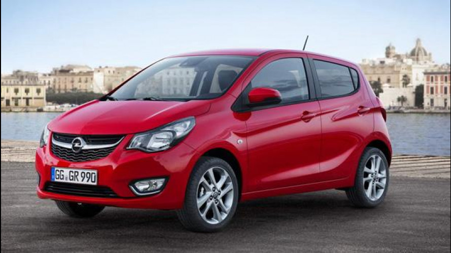 La Opel Karl sarà elettrica nel 2018