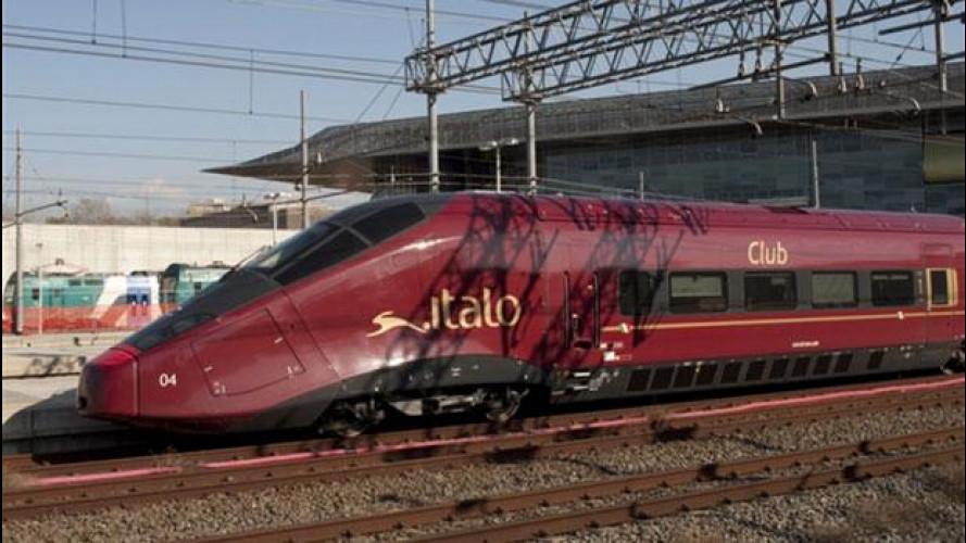 Trasporti: Italo, il treno di Montezemolo, ha effettuato il viaggio inaugurale