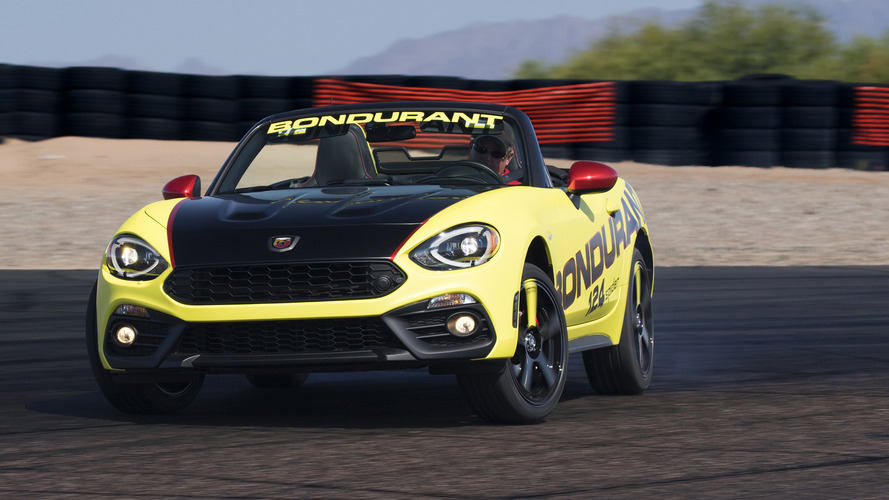 Fiat 124 Spider Abarth buyers get free performance driving school