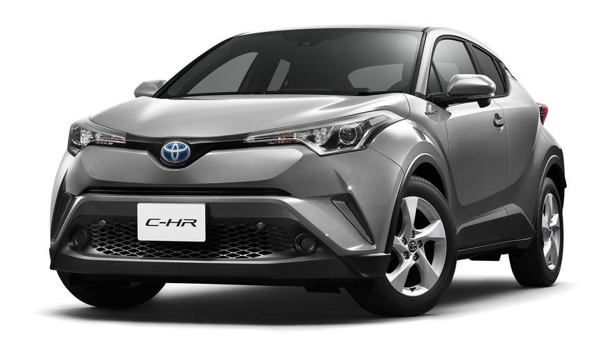 Toyota C-HR'nin Japon versiyonunun özellikleri yayınlandı