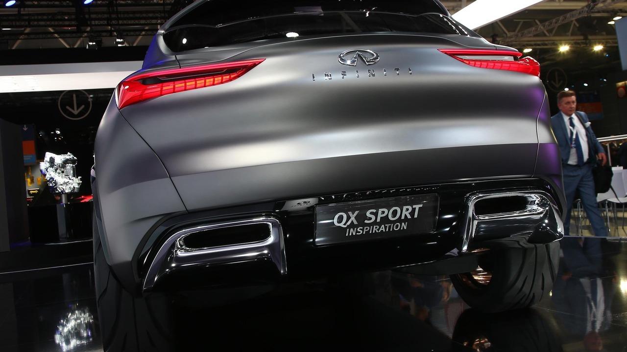 Near production infiniti qx50 concept may debut in detroit - Paris motor show ...