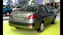 Salão do Automóvel 2008 - Novo sedan Peugeot 207 Passion chega por 40.990