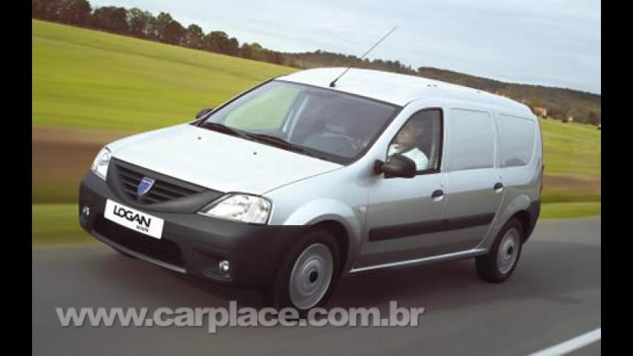 Dacia começa a vender os utilitários Logan Van e Pick-Up na Europa