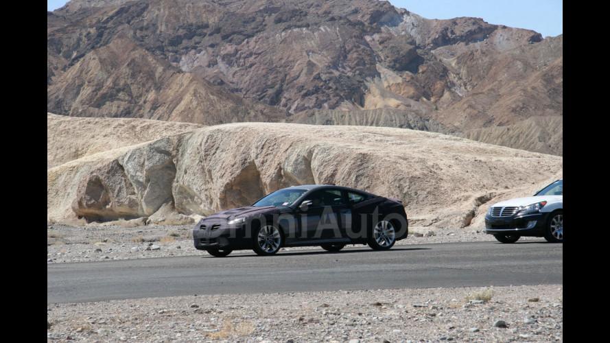 Hyundai Genesis Coupé restyling, le foto spia