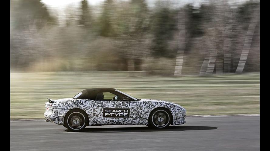 Jaguar F-Type, il