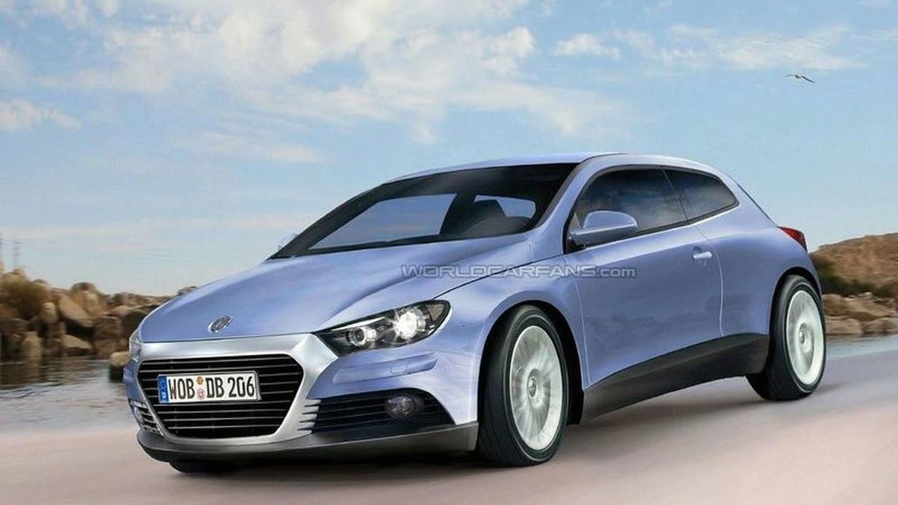 New VW Scirocco artist rendering