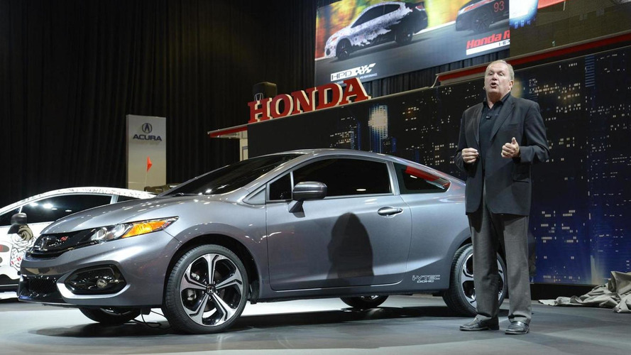 2014 Honda Civic Coupe & Civic Si Coupe unveiled at SEMA