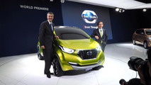 Datsun redi-GO mini SUV concept unveiled in New Delhi [video]
