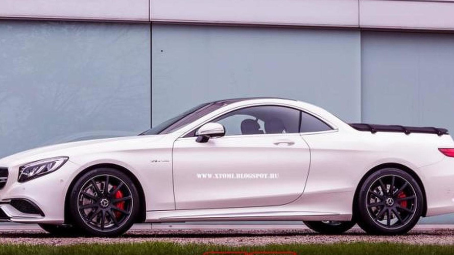 Mercedes-Benz S63 AMG Pickup rendered just for fun