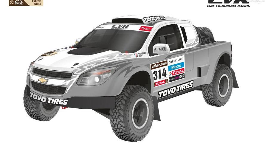 EVR Proto VX 101 Rally Raid concept revealed for the Dakar Rally