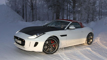 Jaguar F-Type four-cylinder spy photo