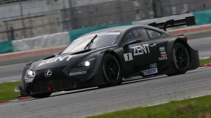 Lexus RC F GT500 revealed, will compete in the 2014 Super GT Series