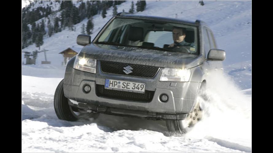 Suzuki Grand Vitara: Nun auch mit sauberem Diesel und ESP