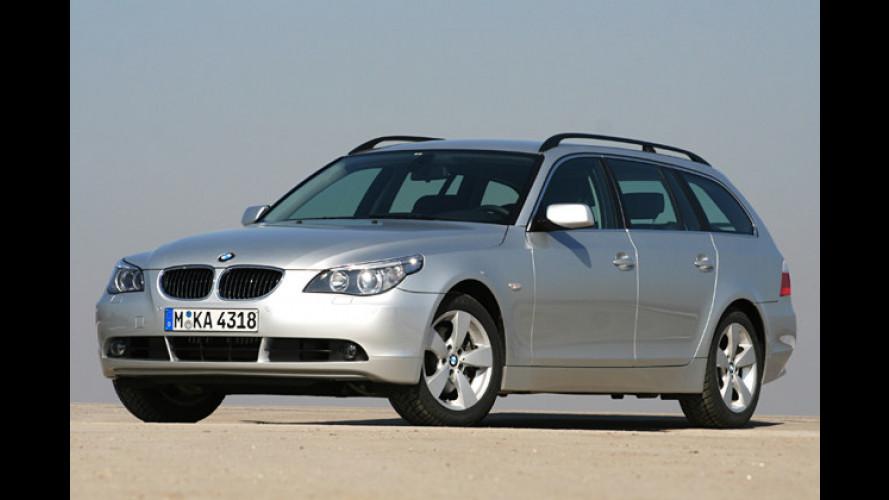BMW 525xi Touring: Der Einstiegs-Allrad-Fünfer im Test