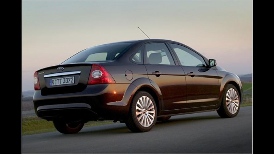 Ford Focus: Im April kommt der frisch aufgelegte Viertürer