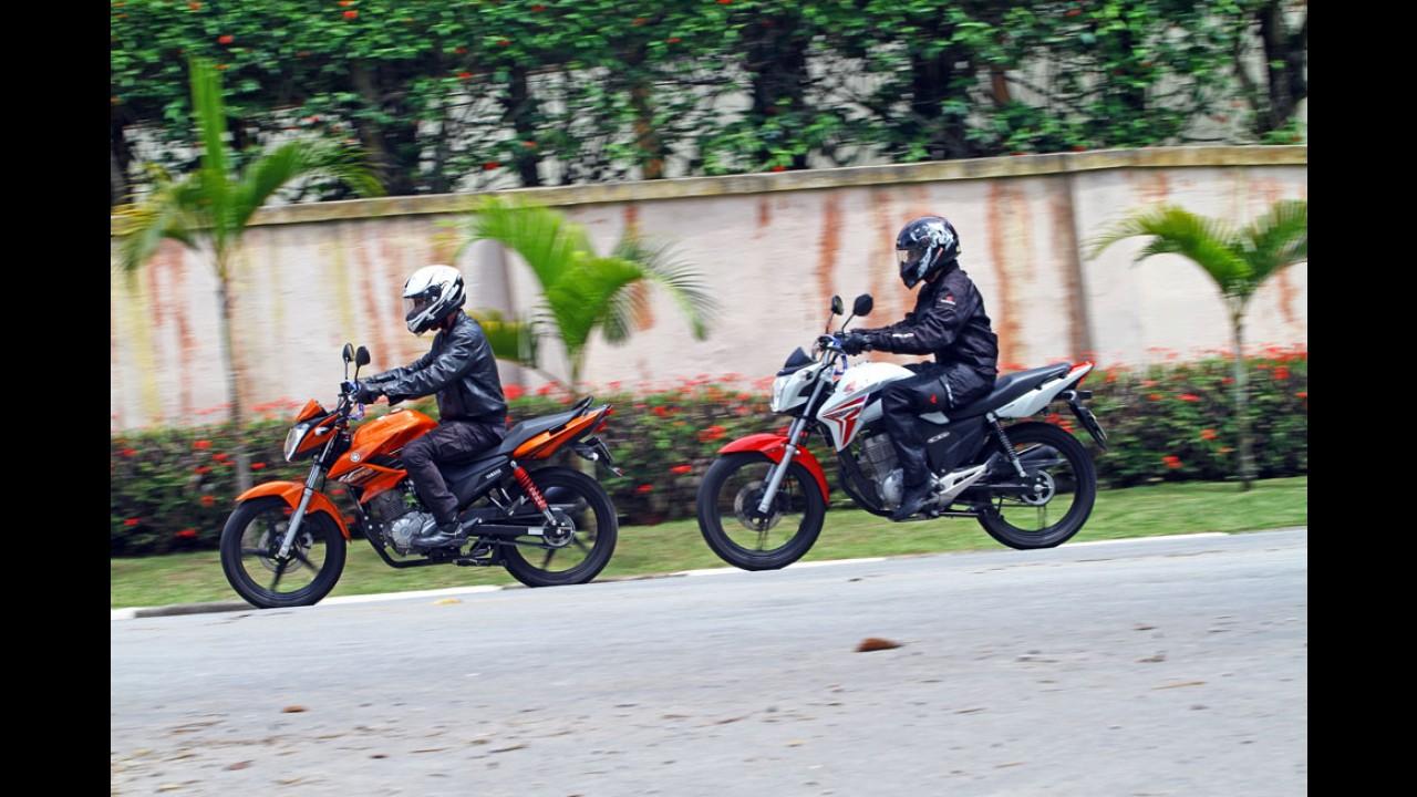 Garagem MOTO #4: Yamaha Fazer 150 e Honda CG 150 fazem duelo de pesos leves