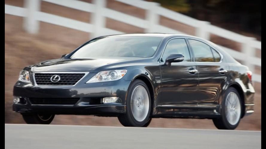 Toyota suspende vendas do Lexus LS nos Estados Unidos