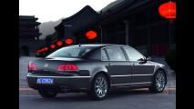 Novo VW Phaeton descerá um degrau para brigar com Chrysler 300C e Ford Taurus