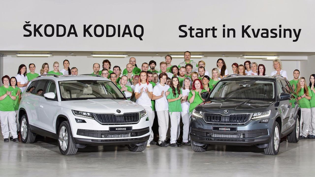 Skoda Kodiaq'ın üretimi başladı