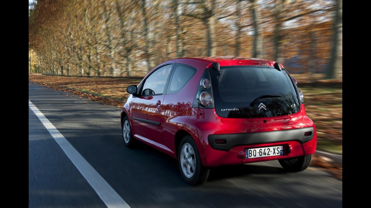 Citroën C1 tem preços divulgados no Reino Unido: O modelo custará o equivalente a R$ 16.960,00