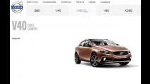 Volvo V40 Cross Country está no site da marca no Brasil