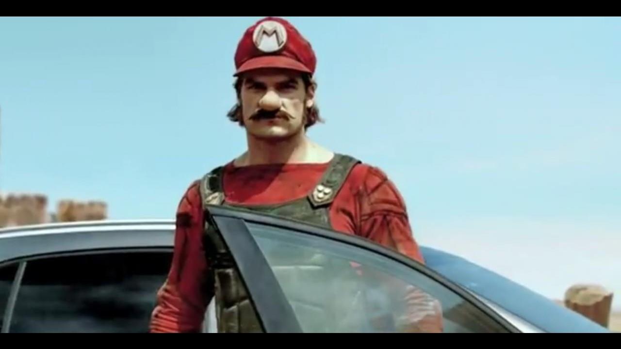 Vídeo: Mario Bros é o escolhido da Mercedes para promover o GLA