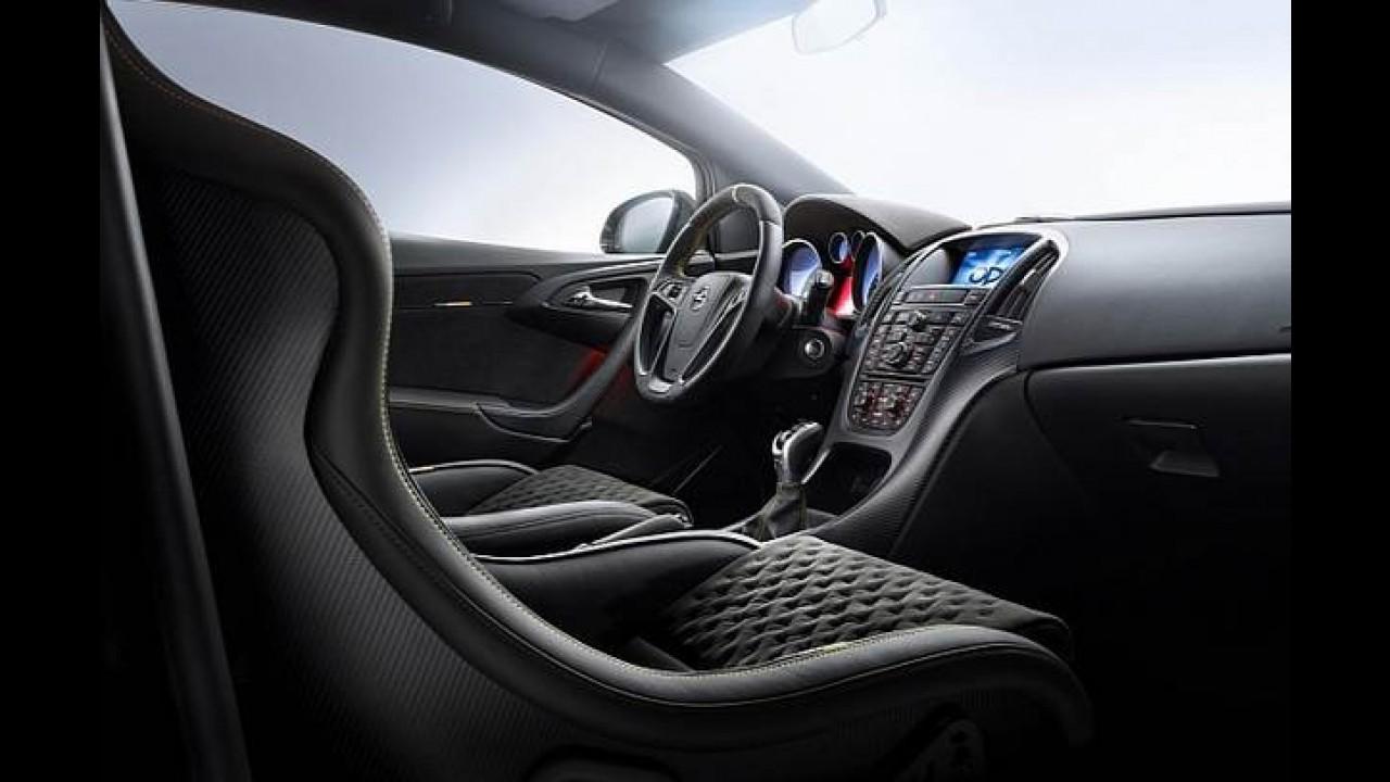 Opel Astra OPC Extreme de 300 cv impressiona, mas será para poucos