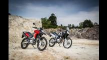 Avaliação: Honda XRE 300, agora flex, encara Yamaha Ténéré 250