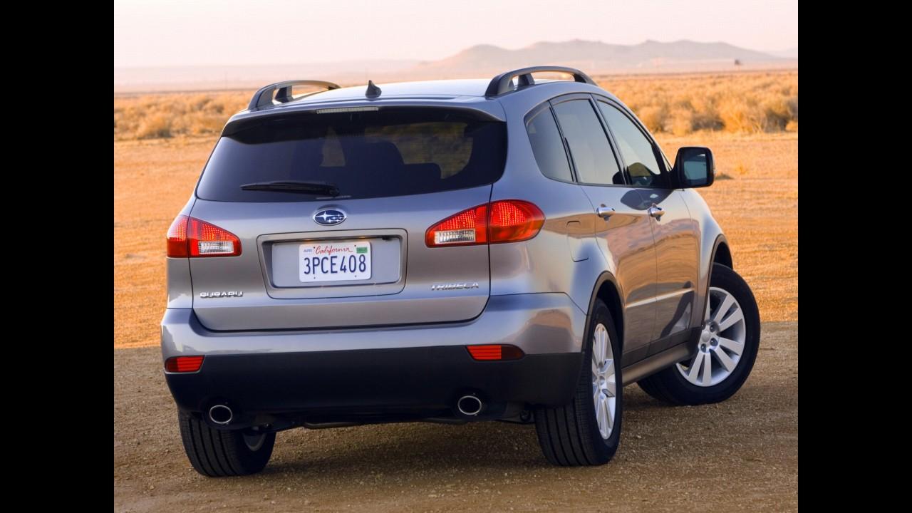 Morte próxima: Subaru Tribeca não deverá ganhar uma nova geração