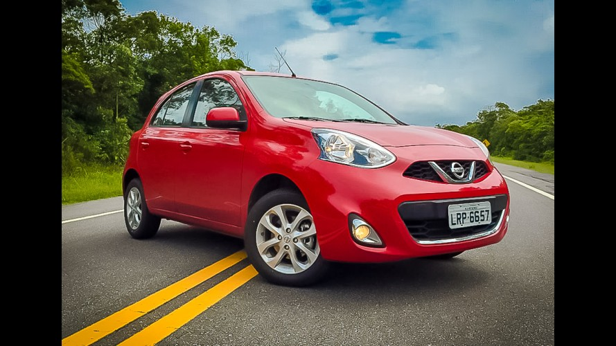 Nissan oferece New March e Versa 1.0 3-cilindros com taxa zero