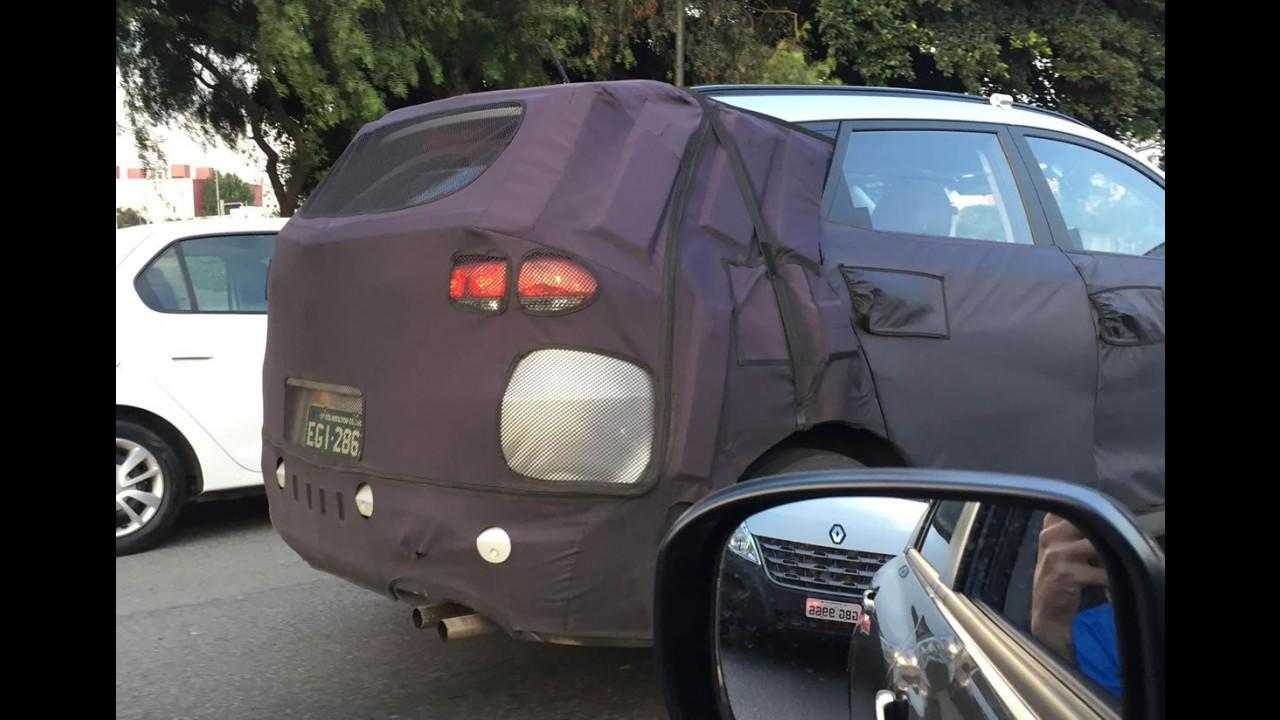 Flagra! Novo Hyundai Tucson é testado em São Paulo