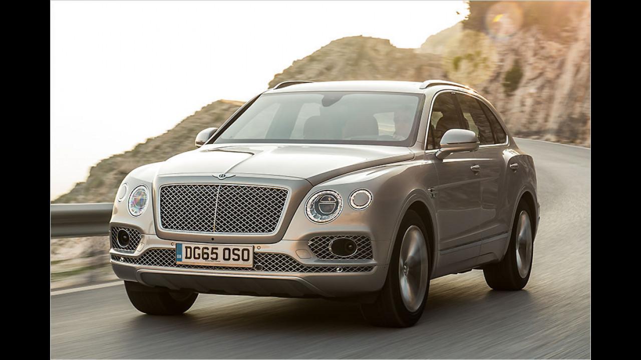 Große SUVs: Bentley Bentayga