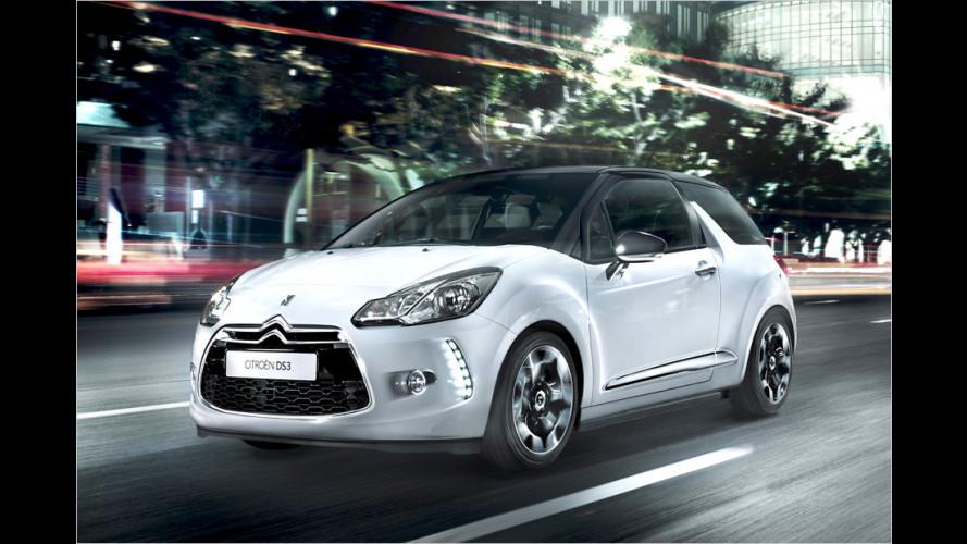 Citroën DS3: Neuer Basis-Otto, mehr Optionen