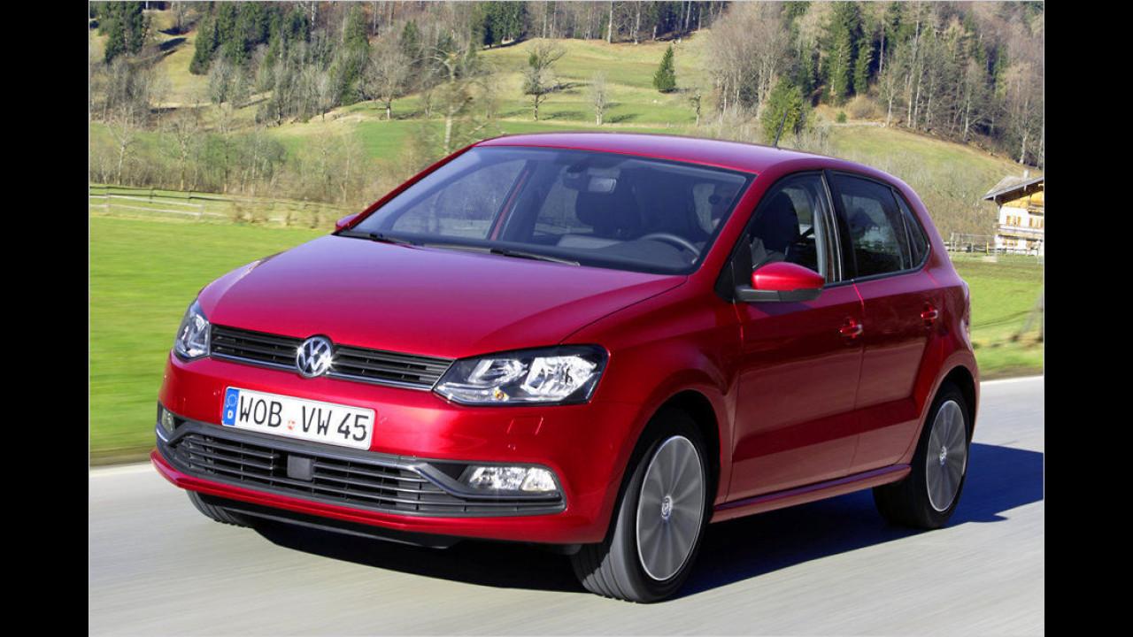 VW Polo 1.0 Trendline (60 PS): 27,6 Prozent