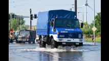 Unimog & Co im Hochwassereinsatz