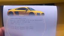 Audi R8 Half-Mile Record
