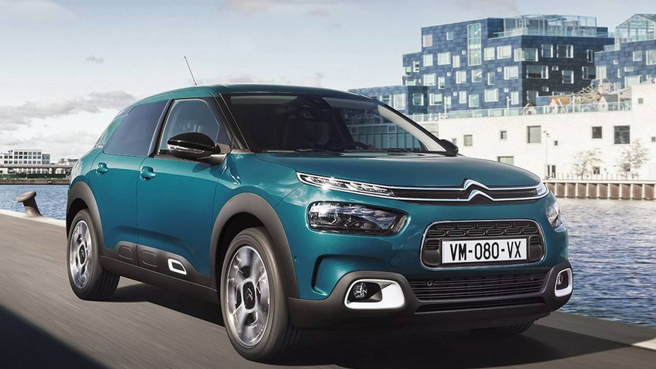 new 2018 citroen c4 cactus revealed now with smaller air bumps. Black Bedroom Furniture Sets. Home Design Ideas