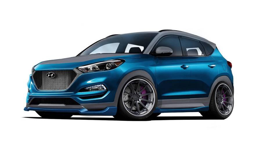 Un Hyundai Tucson Sport Concept pour le SEMA Show