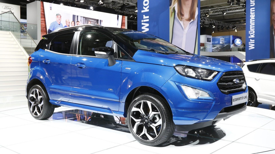 Refreshed Ford EcoSport Is New But Old In Frankfurt