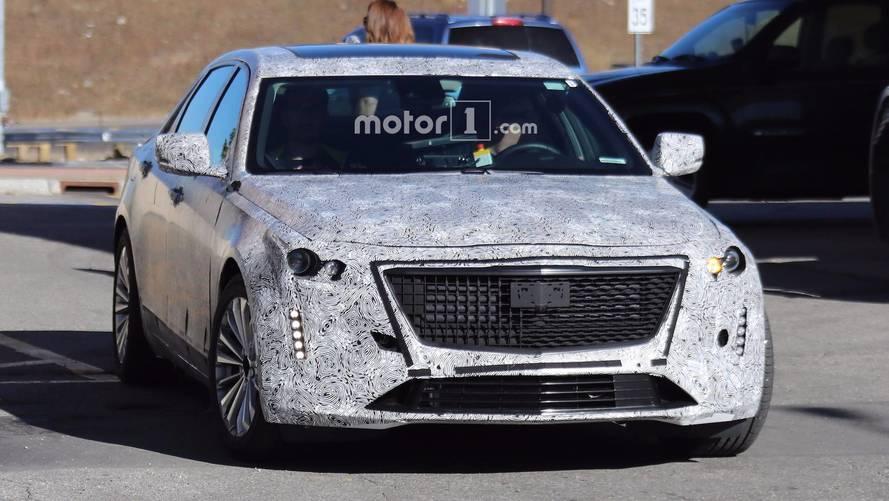 2019 Cadillac CT6 Spy Shots