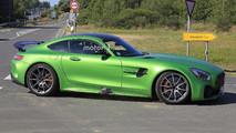 Mercedes-AMG GT4 fotos espía