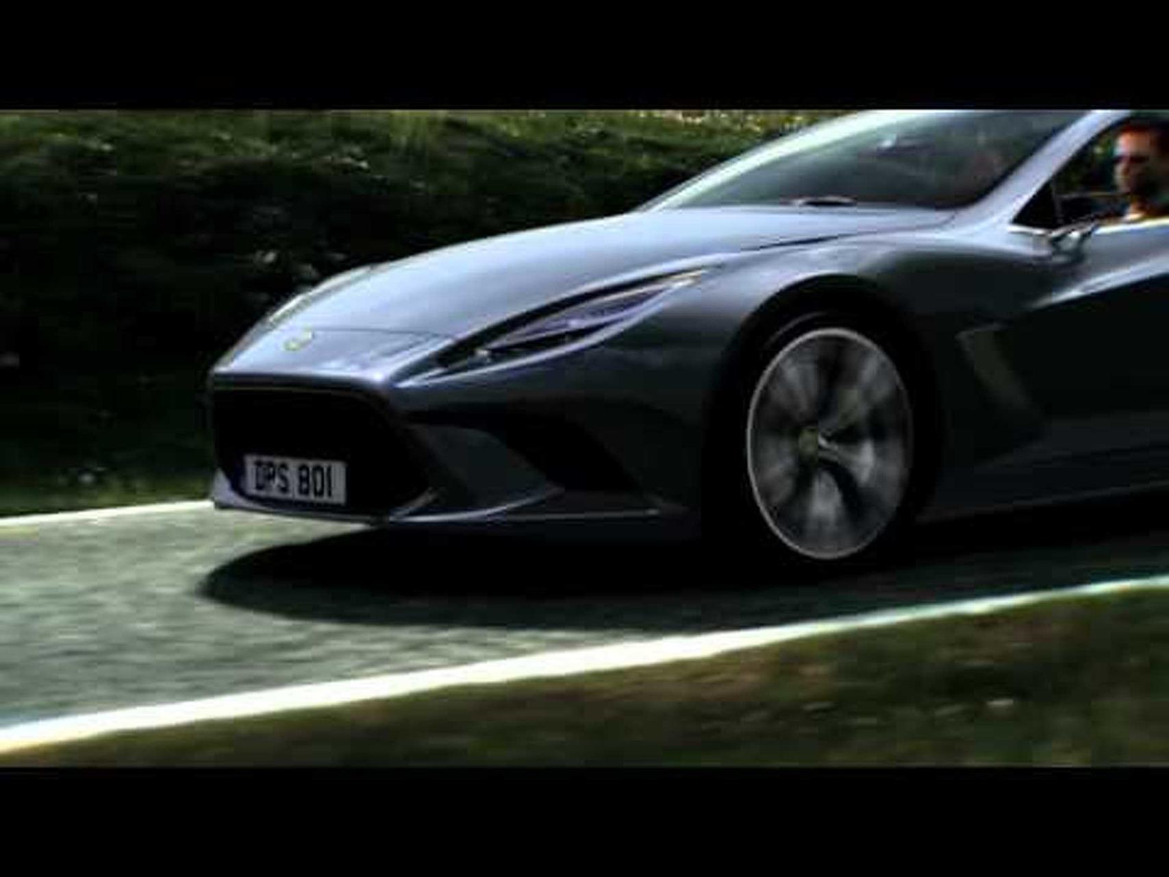 2010 Lotus Elite Concept Video 1