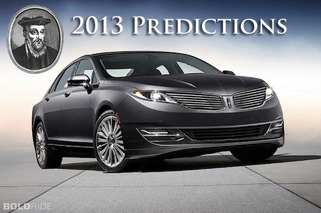 Six Automotive Predictions for 2013