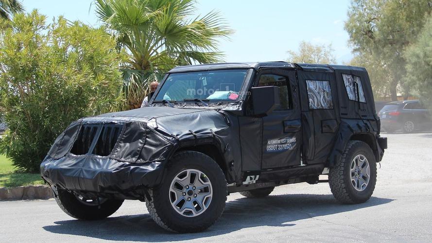 Le prochain Jeep Wrangler est de sorti