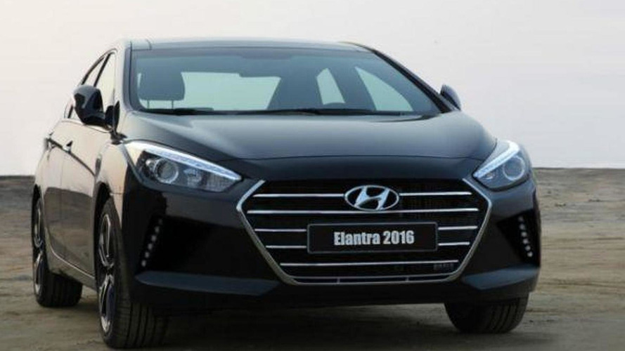 Alleged 2016 Hyundai Elantra spotted