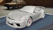 2017 Porsche 911 GT3 leaked image