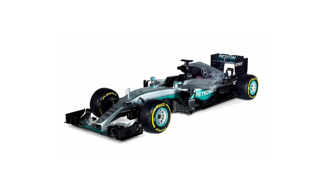Mercedes AMG Petronas F1 W07 Hybrid - Lewis Hamilton