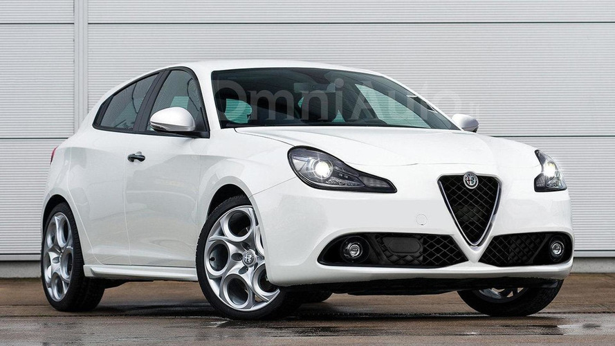 Alfa Romeo Giulietta facelift gets rendered